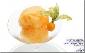 Sorbet of your choice: Tropical Fruits image